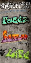 Graffiti Photoshop Styles 2 by survivorcz