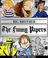 Big Brother: The Funny Papers DVD Cover by shadow0knight