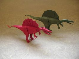 Spinosaurus Modification by origami-artist-galen