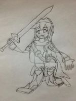 Lucina flattened by yanows03