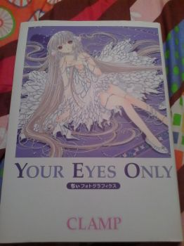 New Artbook:Your Eyes Only Chi Photographics Front by Naglfar94