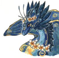 Skydancer Matriarch by owlburrow