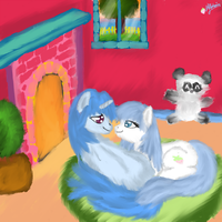Cozy time with Vincent by Pinki3pie
