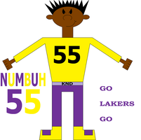 NUMBUH 55 LAKERS STYLE by Flame-dragon