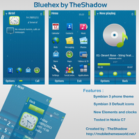 Bluehex by TheShadow by shadowstheme