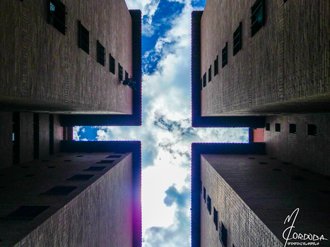 A cross in the Sky by ManuCordoba