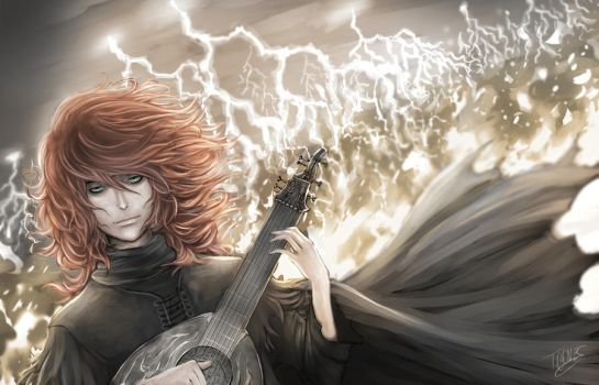 Kvothe - The Kingkiller Chronicle by tgomes9