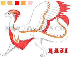 Kaji Full Form Ref by DracoFeathers