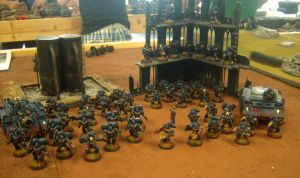 Crimson Fists 1500 points by Noveros