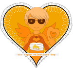 Homestuck Valentine 2017 - Davesprite by TheMockingCrows