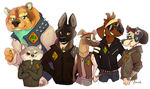 The Mild Gang by Toucat