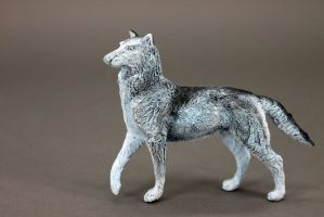 Snow wolf by hontor