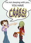 YOU HAVE CRABS by CandinHawkefyre