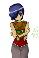 Ciel with Teddybear by AwesomeKijo