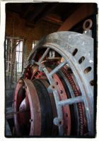Mine Wheel by Urbex