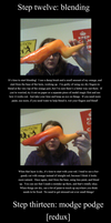 Homestuck Troll Horns Tutorial 4/4 by TwoToned-Jester