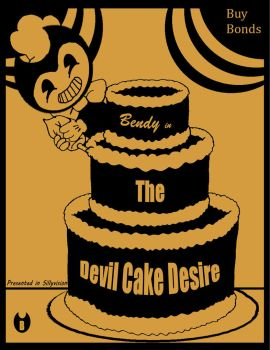 Bendy in the Devil Cake Desire by Mad-Hatter-ison