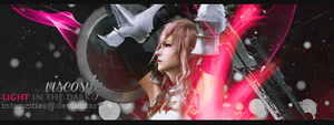 Lightning (Final Fantasy) - Forum Signature by intencities