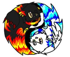 RangerX29 yingyang by sparkytail63