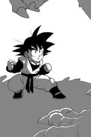 DBZ: Goten and the Dino by Risachantag