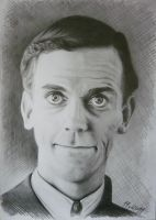 Hugh Laurie by BestIdeaInTheApple