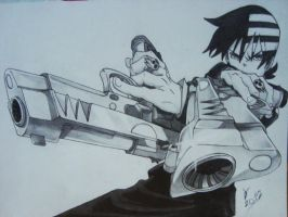 Death the Kid - Soul Eater by Adrawings1
