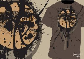 Courtlife T-shirt 2 by ijographicz