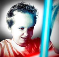 Young Jedi by heeeeman