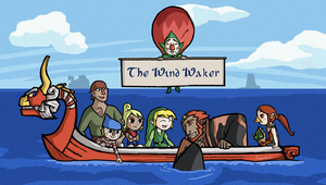 Wind Waker Group - Commission by ZerachielAmora