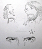 Daniel Bryan Sketch Jam by Crystal-Cat