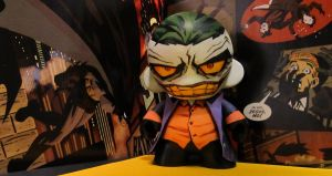The Joker Munny by KidNotorious