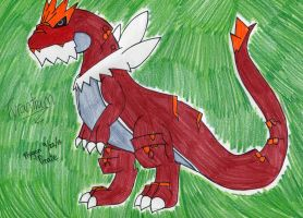 Pokemon- Tyrantrum by FlygonPirate