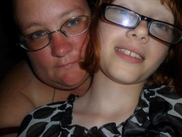 Day 131: Me and little bit by Caedy