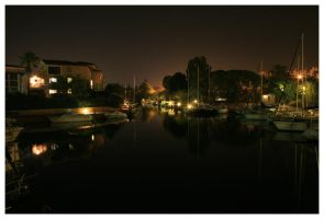 Night Harbour 3. by bwaa