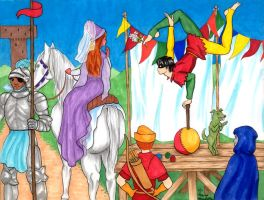 The Princess and the Acrobat by FireFiriel