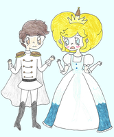 Prince and Princess of Mewni by ambidextrious-witch