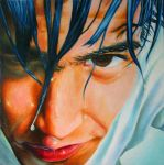 Young Man Portrait Realistic by Kaza2S