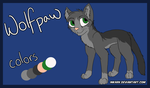 Wolfpaw of VoiceClan (Warriors RP Ref Sheet) by InkArk
