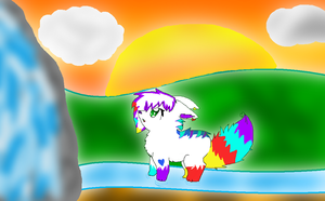 .:CE:. Blossom found a Waterfall! by xXPastelWishesXx