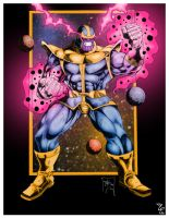 Thanos by apocalypsethen by Marvelfans