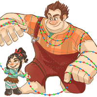 Holiday Wreck it Ralph by NillaKiwi