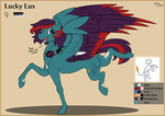 [OC] Lucky Lux 2017 ref by hylidia