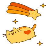 Point Pusheen Cat by TransmitingPoint2You