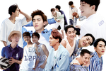 EXO PNG Pack {Dear Happiness Part. 6} by kamjong-kai