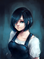 TG:re Touka. by shironosora