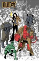 hellboy animated by dusty-abell