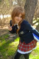 Recess has just begun!! - Fem!France - APH gakuen by blanelle29