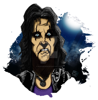 Alice Cooper by Alecobain26