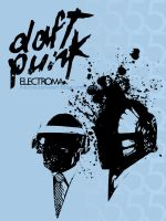 Daft Punk by SilentPilot