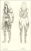 Fem. Connor Kenway costume design by kisusie
